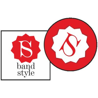 bandstyle-aufkleber